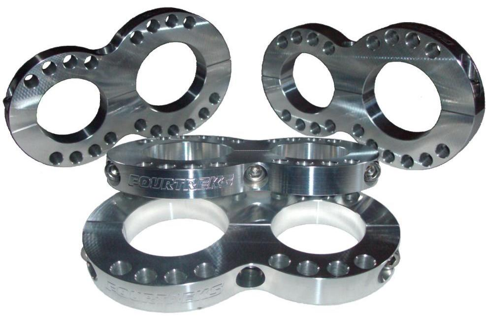 SHOCK MOUNTS, RESERVOIR MOUNTS, RESERVOIR CLAMPS.